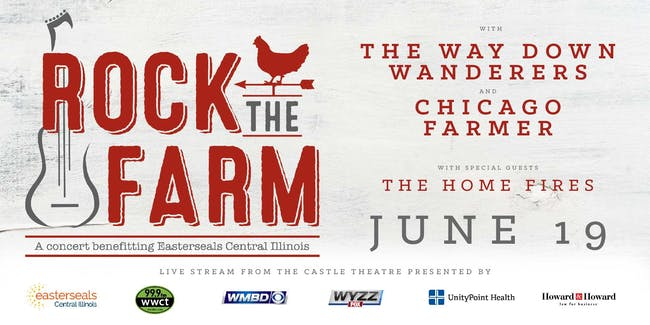 Rock the Farm with  The Way Down Wanderers & Chicago Farmer