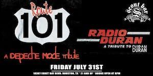 Route 101- a tribute to Depeche Mode + Radio Duran-a tribute to Duran Duran