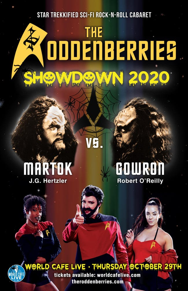 The Roddenberries: Showdown 2020 {CANCELLED}