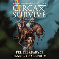 Circa Survive w/ Gouge Away