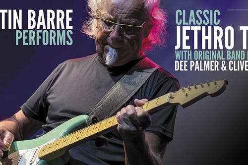 SHOW POSTPONED to 9/17/2021: Martin Barre Performs Classic Jethro Tull