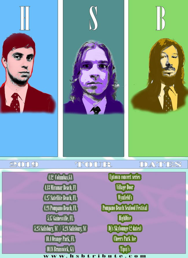 CANCELED - Heart Shaped Box (Nirvana), Dancing with Ghosts, Heavy Pedal