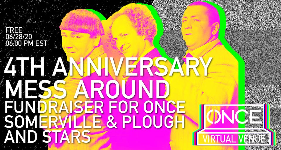 4th Anniversary Mess Around x ONCE VV - NEW DATE