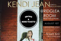 KENDI JEAN SINGLE RELEASE CONCERT WITH GUESTS AT THE RIDGLEA ROOM