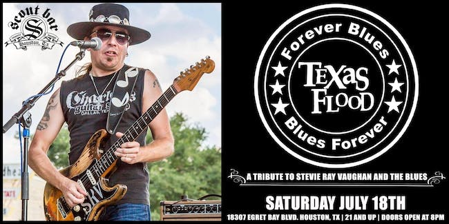 TEXAS FLOOD -  a tribute to Stevie Ray Vaughan and the Blues