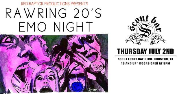 RAWRING 20'S EMO NIGHT