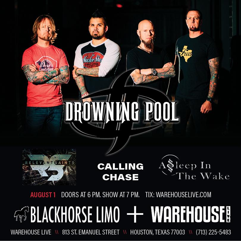 DROWNING POOL / ASLEEP IN THE WAKE / RELEVANT SAINTS / CALLING CHASE