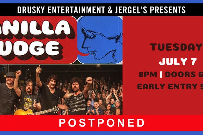 POSTPONED - Vanilla Fudge