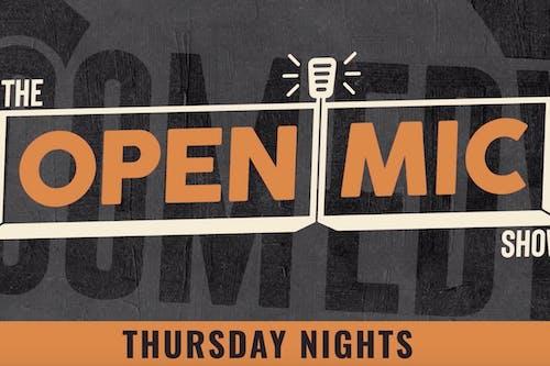 THURSDAY JULY 9: OPEN MIC SHOW