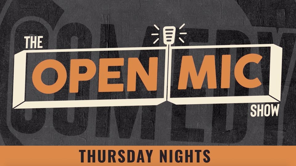 THURSDAY JULY 9: OPEN MIC SHOW