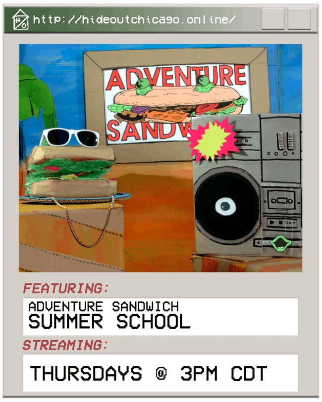Adventure Sandwich Summer School