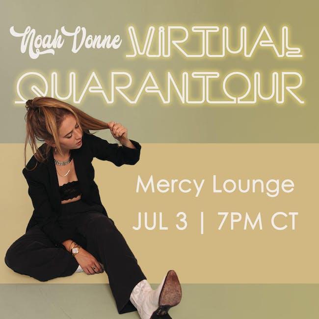 Noah Vonne: Virtual QuaranTour