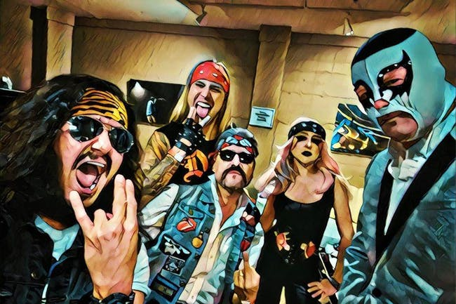 Metalachi: The World's First and Only Heavy Metal Mariachi Band at Moxi