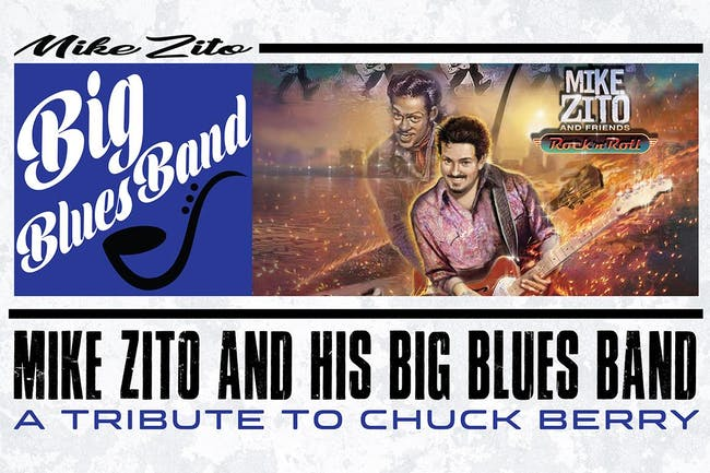 Mike Zito - Tribute to Chuck Berry w/ Special Guest: Vanessa Collier