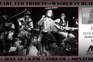 HDLSC Presents: WASHED IN BLACK - Tribute to Pearl Jam UNPLUGGED