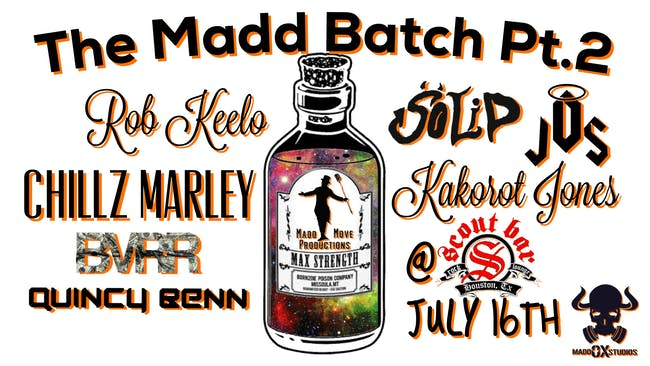 Rob Keelo, Chillz Marley, BMRR, Quincy Benn, Soild, and Kakorot Jones