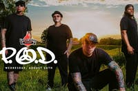 P.O.D. - New Date Announced