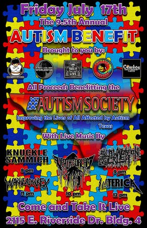 ANNUAL AUTISM SOCIETY BENEFIT 9.5