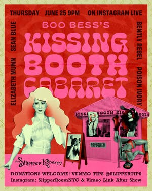 Boo Bess's Kissing Booth Video Link