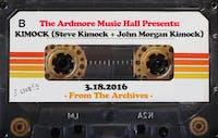 From The Archives - KIMOCK (Steve Kimock + John Morgan Kimock) - 03.18.16