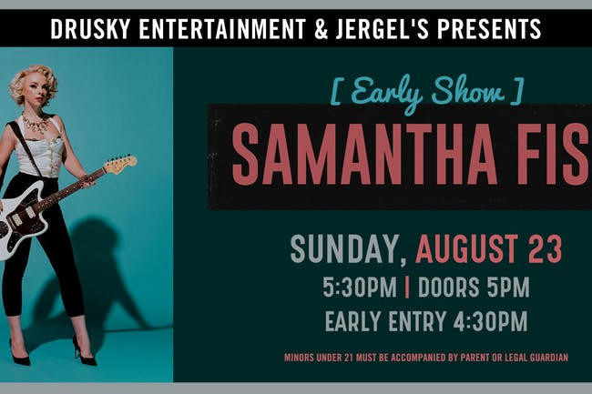 Samantha Fish (Early Show)