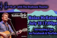 At Home With The Orpheum Theater Featuring: Nolan McKelvey