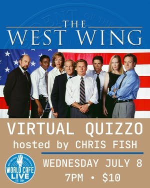 VIRTUAL The West Wing Quizzo