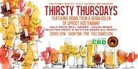 Thirsty Thursdays Featuring Brian Trew & Brian Bolen (Uproot Hootenanny)