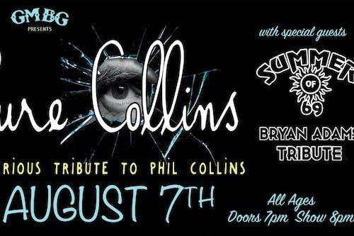 Rescheduled - Pure Collins (Phil Collins)