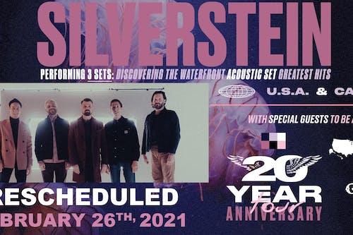 Silverstein: 20 Year Anniversary Tour - NEW DATE
