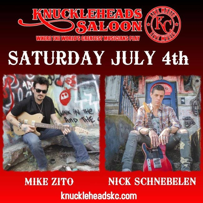 Mike Zito Band and Nick Schnebelen  Band