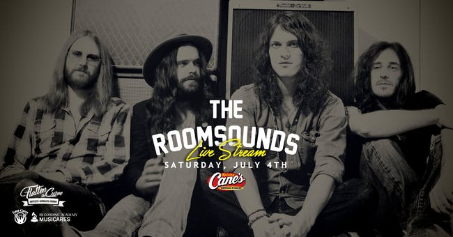 The Roomsounds [LIMITED SEATING and LIVE STREAM!]