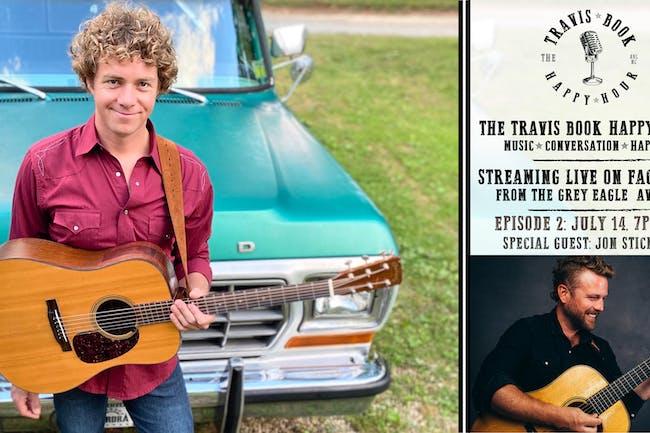 LIVE STREAM: The Travis Book Happy Hour ft Jon Stickley