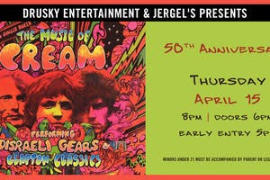 The Music of Cream – Disraeli Gears Tour + Clapton Classics
