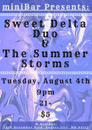 SWEET DELTA DAWN /  THE SUMMER STORMS