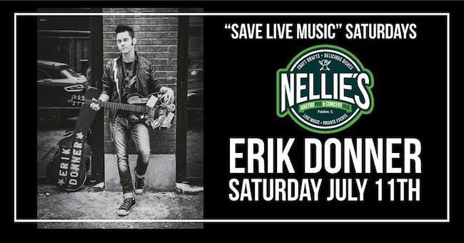 Erik Donner Rocks Nellies Roof Top