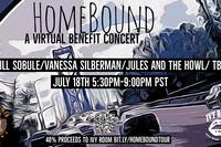 Homebound Virtual Benefit Show Feat. Jill Sobule- Vanessa Silberman & more!