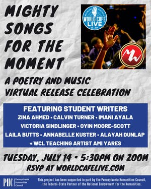 Mighty Songs for the Moment: A Poetry and Music Virtual Release Celebration