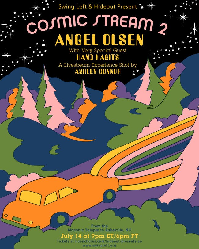 Cosmic Stream 2: Angel Olsen