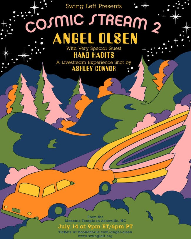 Cosmic Stream 2: Angel Olsen with very special guest Hand Habits
