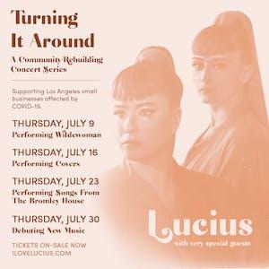Lucius Live Stream: Performing Wildewoman