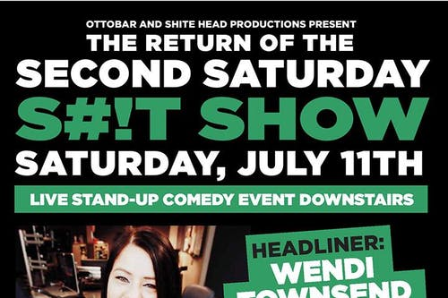 The Second Saturday S#!T Show RETURNS LIVE ON STAGE
