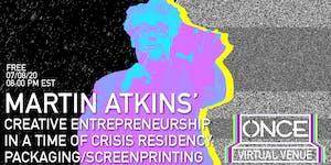 Martin Atkins (of Pigface, Public Image Ltd.) x  ONCE VV