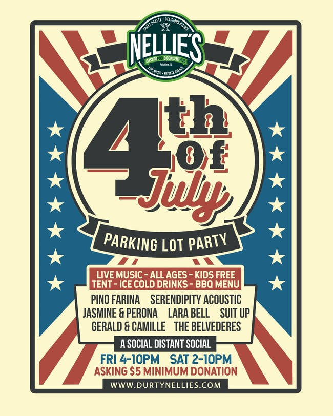 4th July Weekend Socially Distancing Parking Lot Party