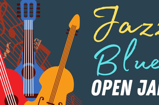 Jazz & Blues OPEN JAM!