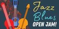 Jazz & Blues OPEN JAM!