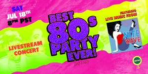 NVCS presents NITE WAVE Best '80s Party Ever! (so far) Live Stream