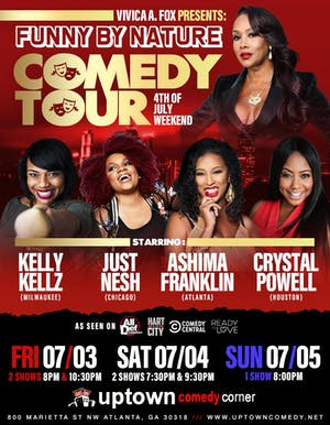 Online Event: Funny By Nature: Comedy Tour