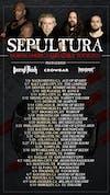 SEPULTURA - N. AMERICAN TOUR w/ SACRED REICH