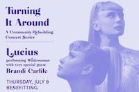 Lucius performing Wildewomen w/ special guest Brandi Carlile (Livestream)